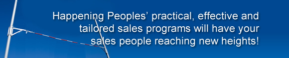 Happening Peoples' sales programs